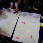 【2015.1.19】浜郷小学校6年生「避難所運営ゲームHUG」体験