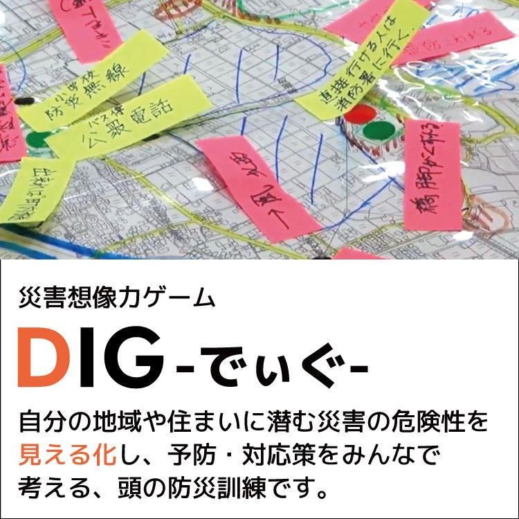 災害想像力ゲーム「DIGでぃぐ」